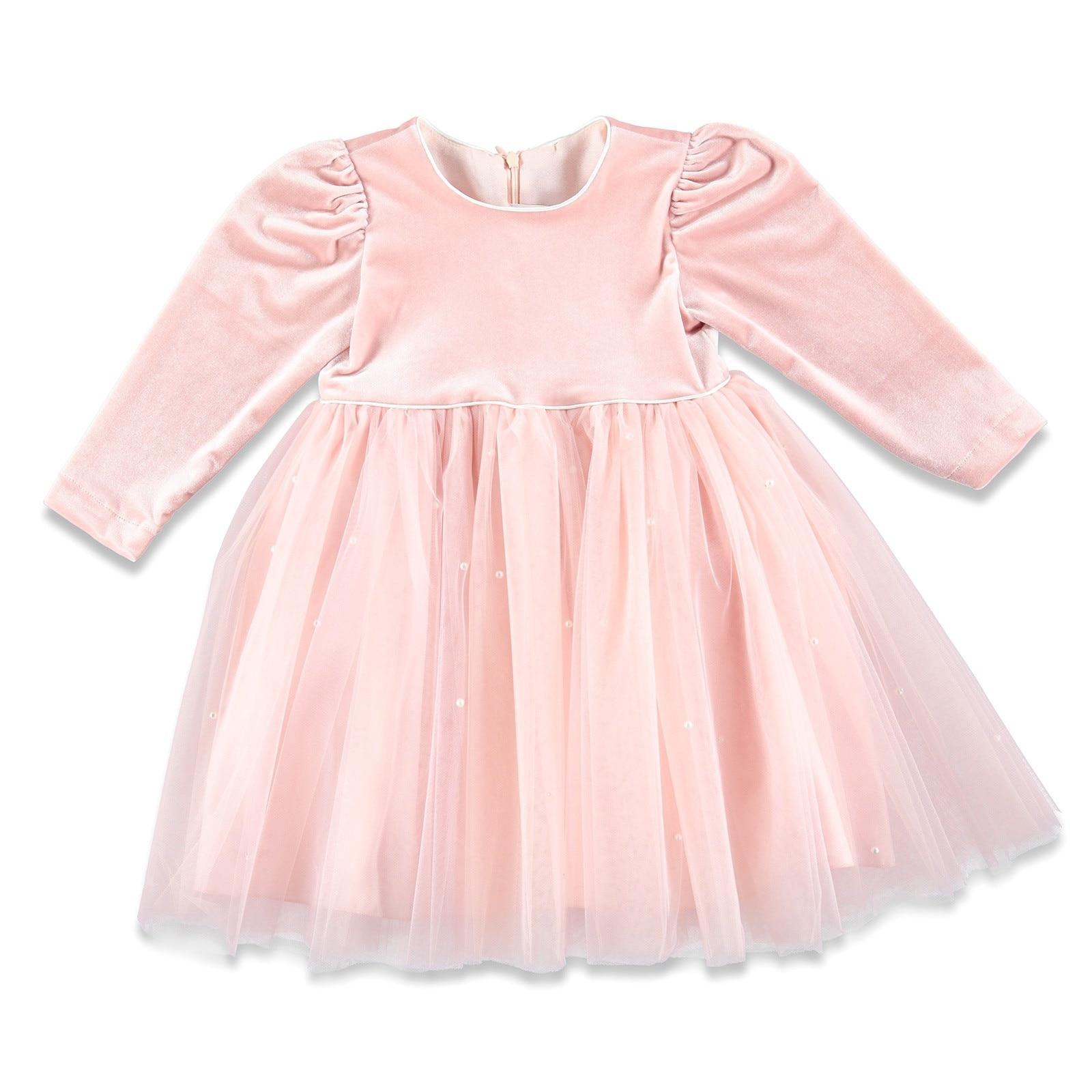 Ebebek ChatonDor Pearl Detail Baby Girl Dress