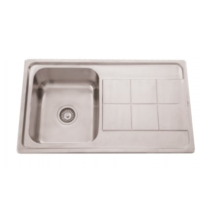 Sink With Drainer With/without Hole Faucet Se8650