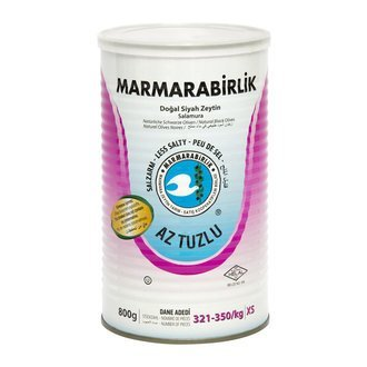 Marmarabirlik Less Salted Pickled the heart of the Puglia 800 g