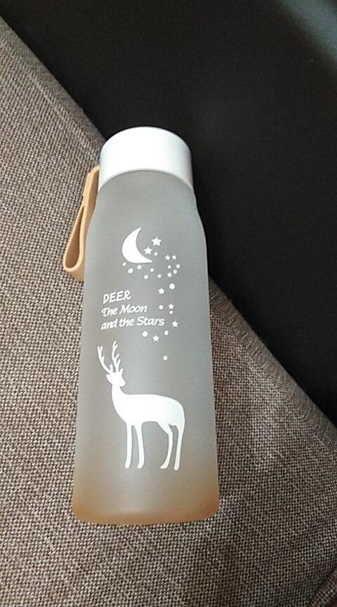 560ml Water Bottle Leak Proof for Girl Biking Travel Portable Water Bottles Plastic H1177-in Water Bottles from Home & Garden on AliExpress