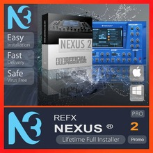 ReFX Nexus Last Version 2021 for WINDOWS Full Version Lifetime Activation Authorized Dealer Product description