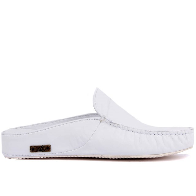 Sail Lakers Genuine Leather Men Slippers Rubber Soled Outdoor Slipper Flat Slippers Slip On Fashion Luxury Loafers zapatos de mujer туфли женские обувь женская