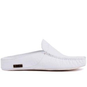 Image 1 - Sail Lakers/мужские тапочки на резиновой подошве из натуральной кожи; Тапочки на плоской подошве; Модные роскошные Лоферы без застежки; zapatos de mujer; женская обувь