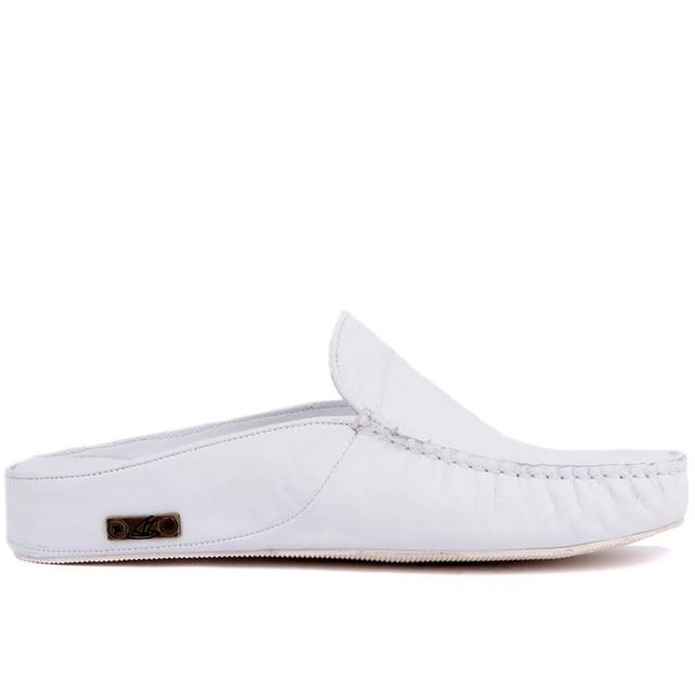 Sail Lakers/мужские тапочки на резиновой подошве из натуральной кожи; Тапочки на плоской подошве; Модные роскошные Лоферы без застежки; zapatos de mujer; женская обувь