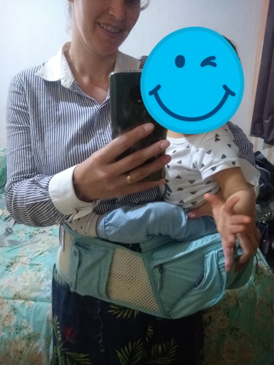 Sunveno Breathable Baby Carrier Ergoryukzak Front Facing Baby Carrier Comfortable Sling for Newborns-in Backpacks & Carriers from Mother & Kids on AliExpress