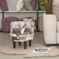 Bean Bag Sofas Delicatex Kioto sero bezhevyiy Ottoman Padded stool pouffe furniture living room decorative