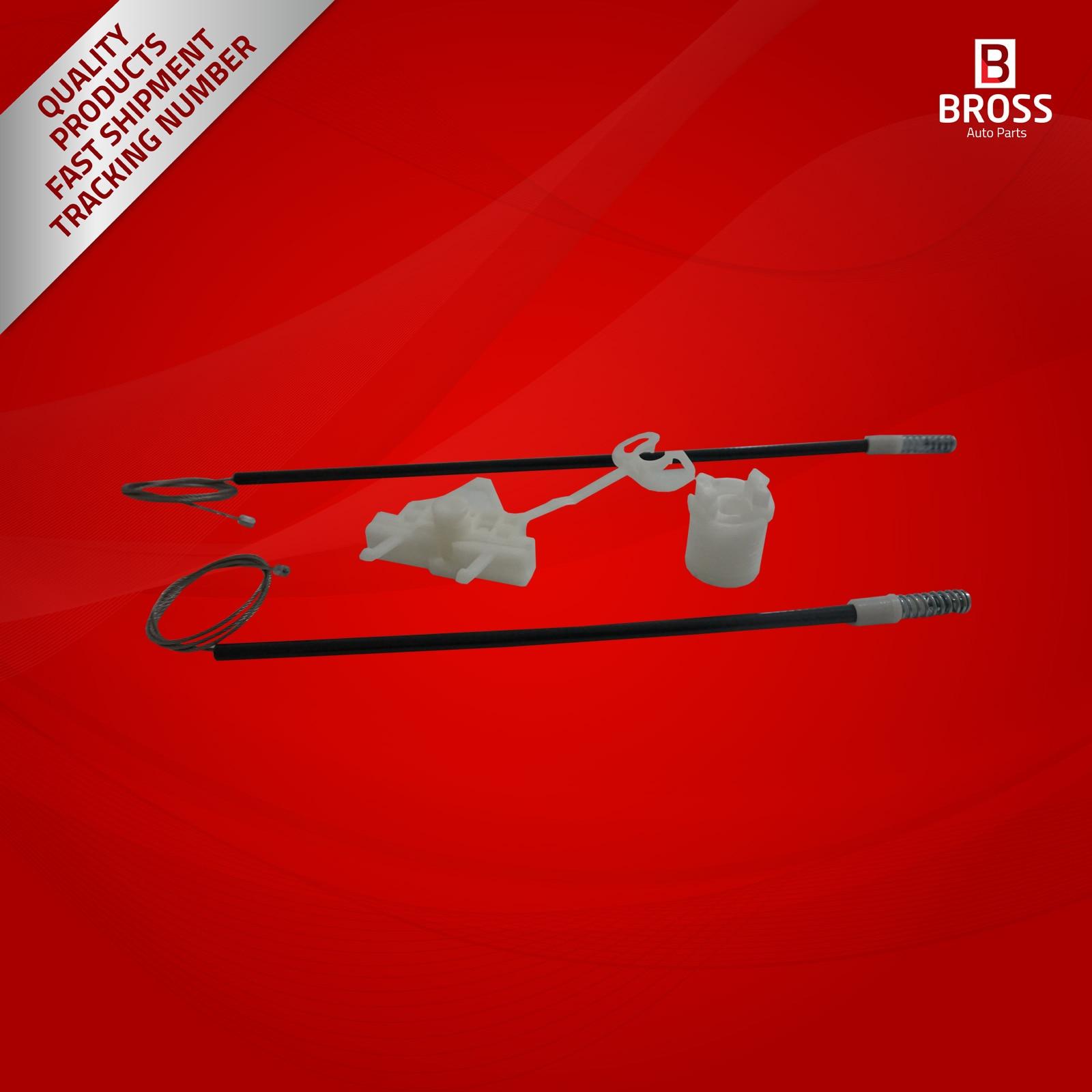 BWR5181 Manuelle Fensterheber 51723324 Reparatur Set Hinten Links für Punto 199