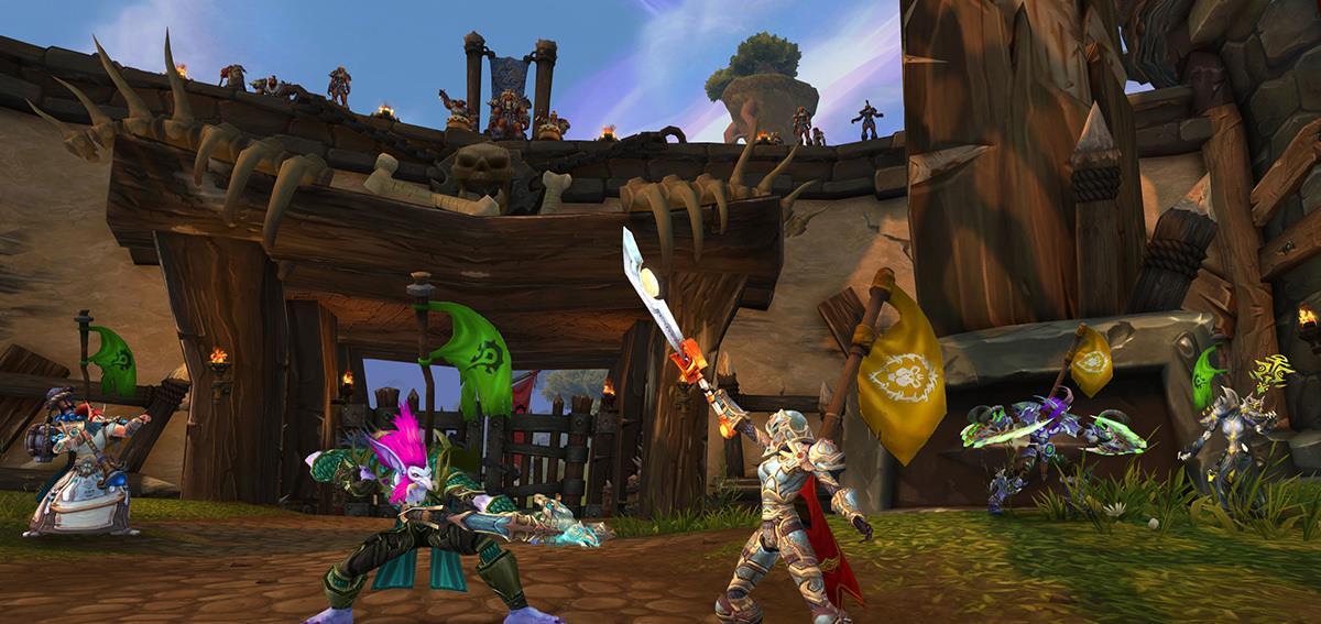 魔兽世界怀旧服:玩家赚金币维持生活的技巧——应该练两个盗贼插图(1)