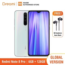 Global Version Xiaomi Redmi Note 8 Pro 128GB ROM 6GB RAM (Brand New and Sealed Box), note8 Smartphone Mobile