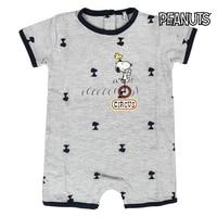 Curta mangas compridas Romper Terno do bebê Snoopy 74575|  -