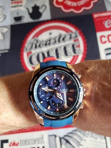 -- Relógio Quartzo Superior