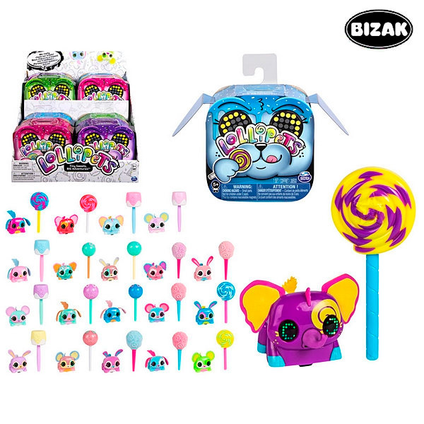 Interactive Pet Lollipets Bizak
