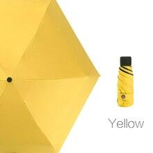 200g Mini Pocket Folding Umbrella Girls Anti-UV Rain Women Gift Men Mi