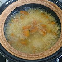 小米南瓜粥的做法图解5