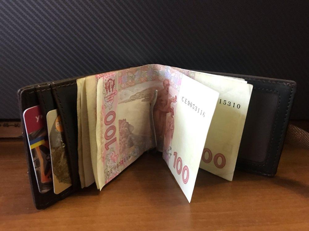 Clipe de dinheiro Homens Dinheiro Carteira