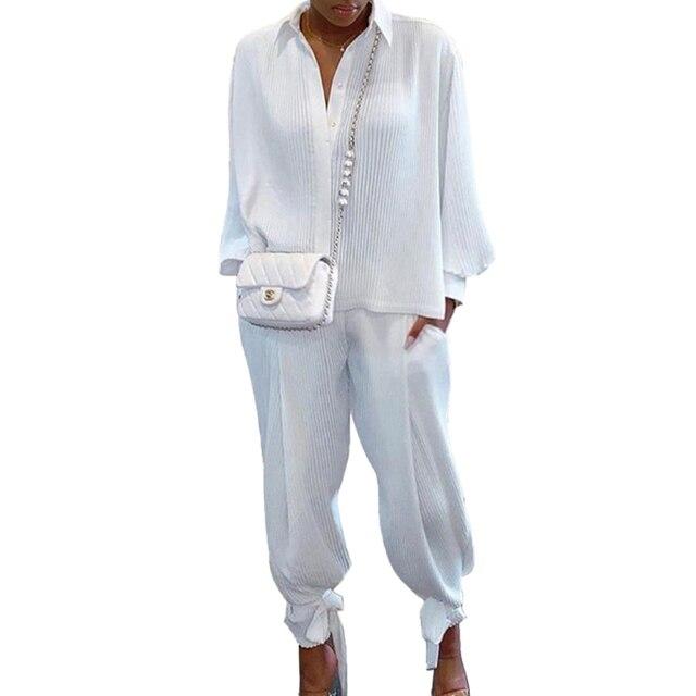 Two Piece Set 'Suit Top Pants Tracksuit 1