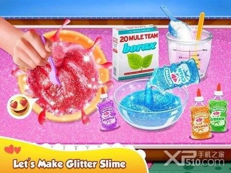 Glitter Slime Maker