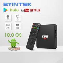 BYINTEK TV Box Android 10,0 OS 2G + 16G 2,4G WIFI Chipset3229 medios jugador de Netflix, Hulu Media Player 4K Youtube