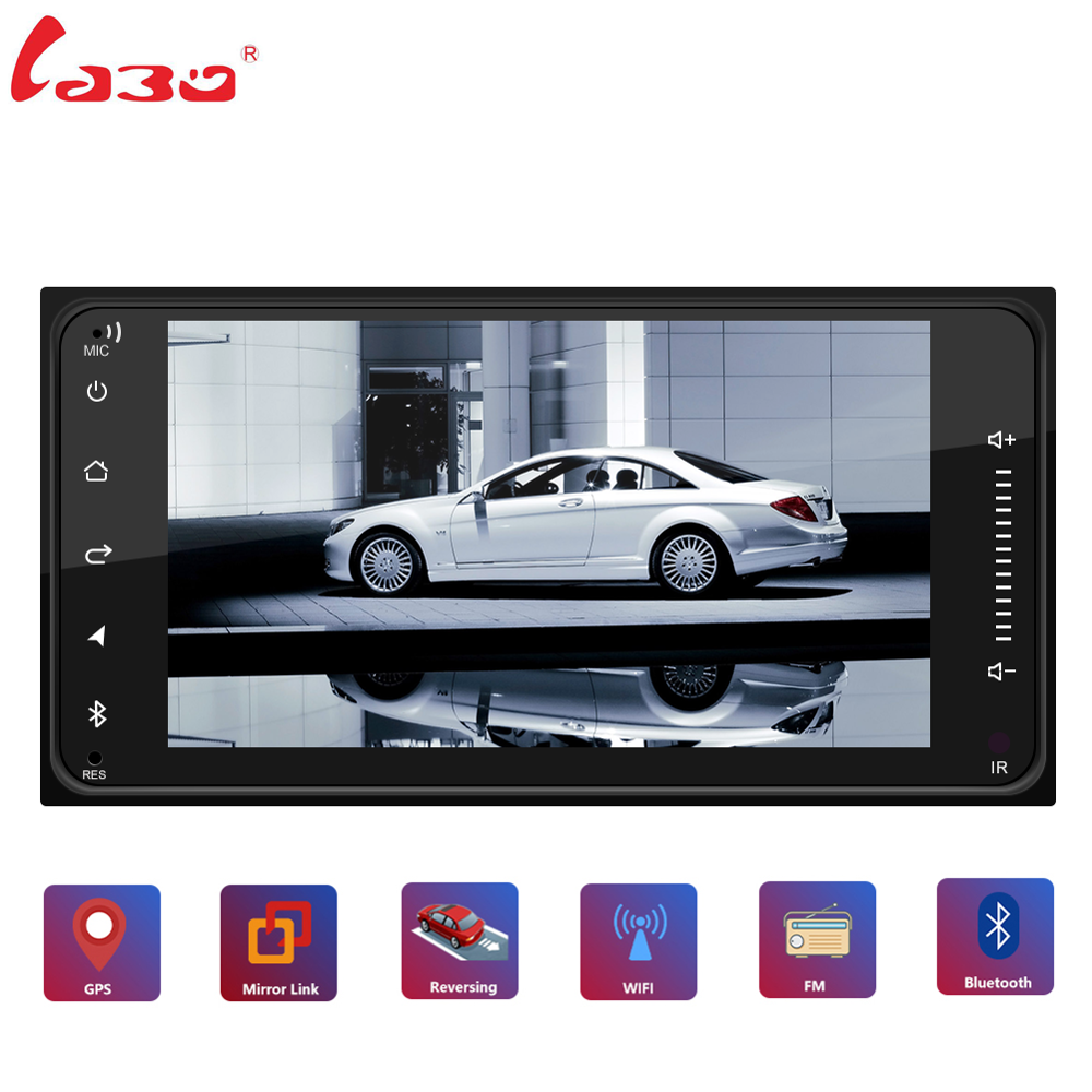 2din Android 8.1 Universal Car for Toyota Corolla Camry Crown RAV4 Car Radio GPS Navigation Bluetooth WiFi Multimedia Player image