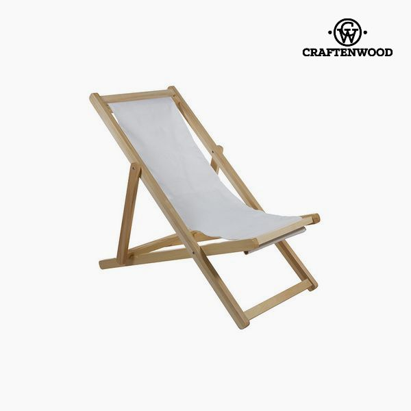 Garden Chair Aspen Wood White (111 X 93 X 63 Cm) By Craftenwood