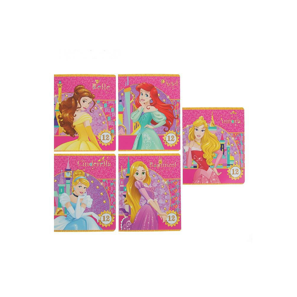 Exercise Book Disney Princess 12 Sheets Line