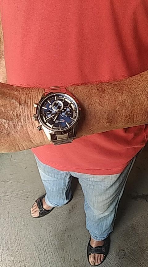 Men's Waterproof Stainless Watch