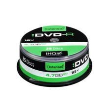 DVD-R INTENSO 4101154 16x4,7 ГБ 25 шт