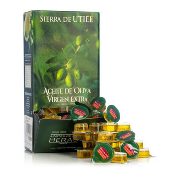 Sierra de Utiel - Extra Virgin Olive Oil -  Self Portion Pack 168 Units - LAUNCHING OFFER - 100% Natural & Spanish Product, Premium Quality, First Cold Pressed