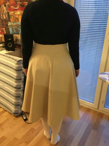 Spring Skirts Womens High Waist A Line Big Swing Midi Skirt Korean Pockets Office Lady Elegant Women Skirt Jupe Femme Falda photo review