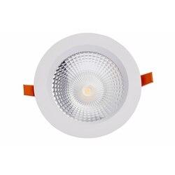 Downlight Plex Led 25 W Natürliche Licht 4000 K Finishing Weiß 4225400 montage loch 125mm