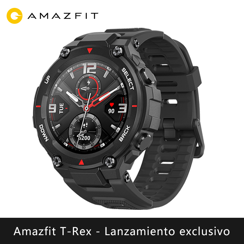 Lancement exclusif Amazfit T-REX montre intelligente sport extérieur xiaomi montre intelligente GPS bluetooth [Version mondiale]