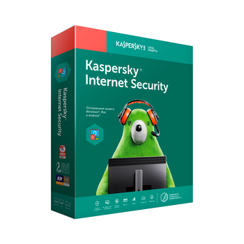 Kaspersky Internet Security Russian Edition 2 devices license renewal 1 year download pack kl1939rdbfr