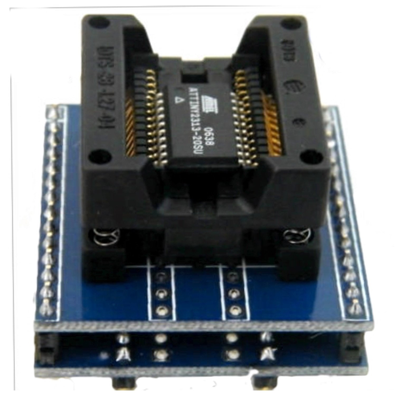 Programmer socket Sop28 to Dip28 PITCH 1,27 все цены