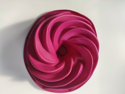 Big Swirl Shape Silicone Mold photo review