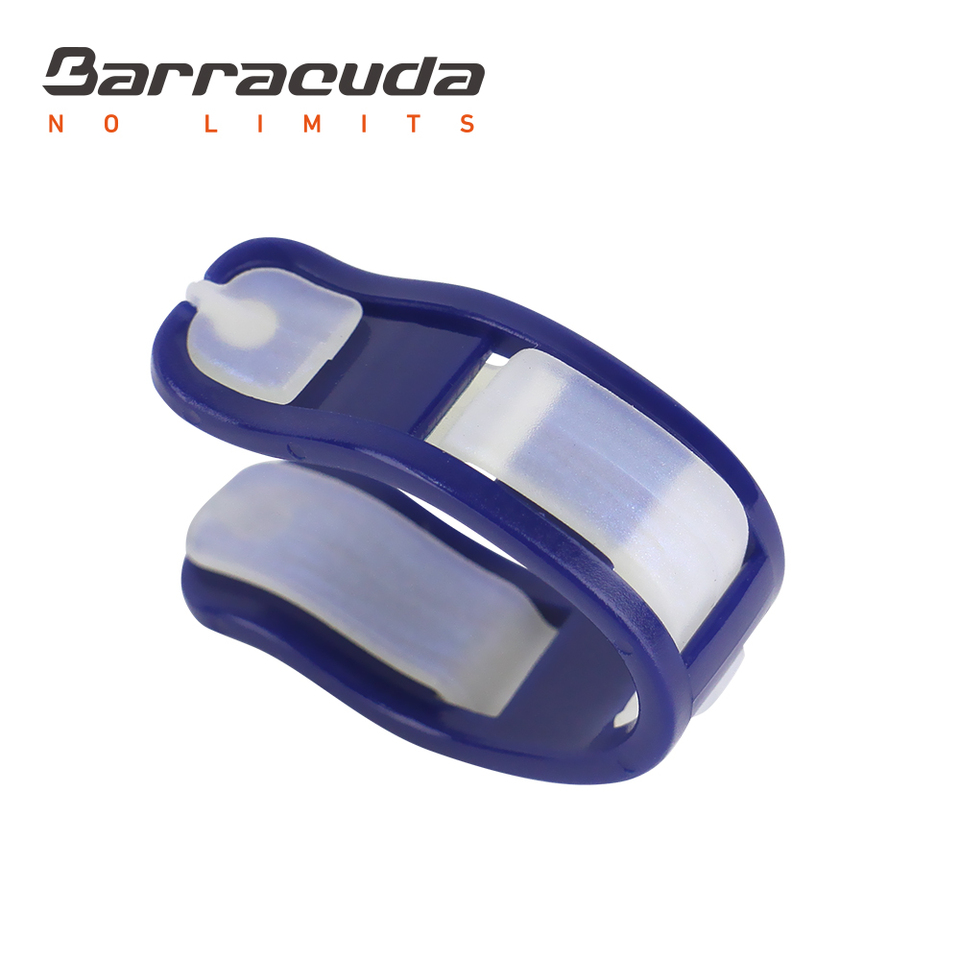 Storage Case Included #N012 with Silicone Pads for Adults Barracuda ULTIMATE NOSE CLIP