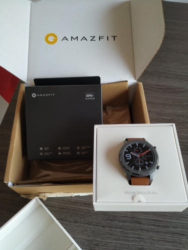 Global Version Amazfit GTR 47mm Smart Watch 5ATM Waterproof Smartwatch 24Days Battery Music Control Leather Silicon Strap-in Smart Watches from Consumer Electronics on AliExpress