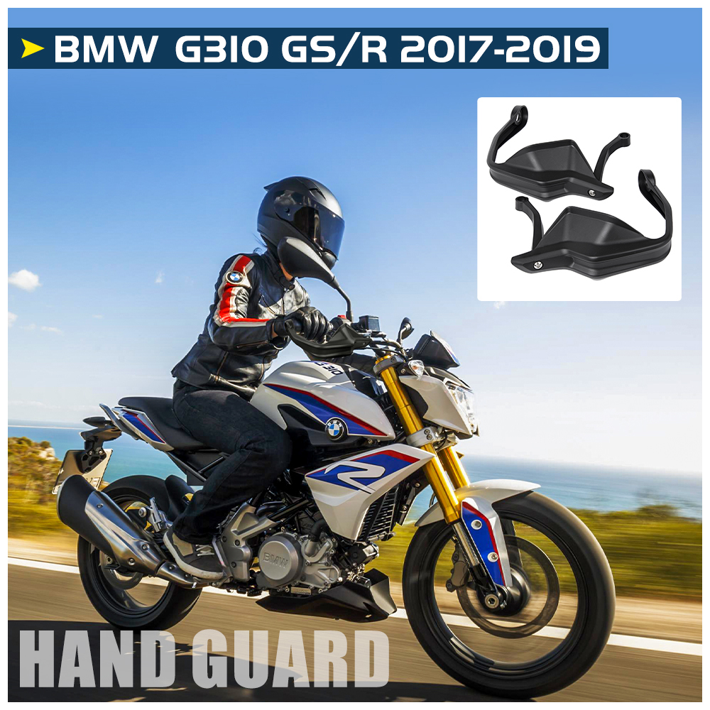 For <font><b>BMW</b></font> G310GS G310R Handle Bar Hand Guard Handguard Protector Brake Clutch Shell Wind Deflector <font><b>G</b></font> <font><b>310</b></font> <font><b>GS</b></font> 310R 2017 2018 2019 image