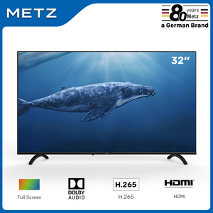 Television 32INCH LED TV METZ 32MTB2000 Frameless Dobly audio H.265 DVB-T/T2/C/S/S2 Plaza (Shipping from Spain,2-Year Warranty)