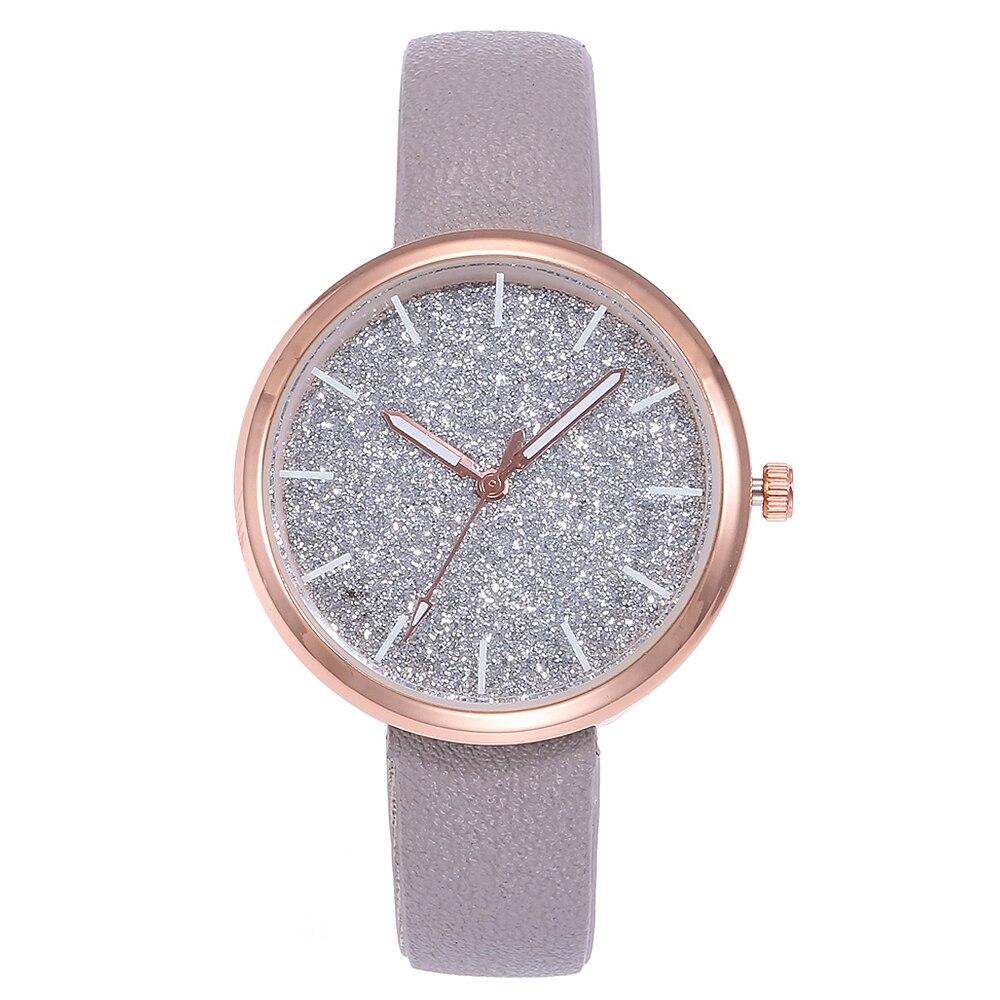 Top Brand Famous Female Clock Quartz Watch Flowers Starry Sky Wristwatch Montre Femme Relogio Feminino Ladies Clock Women
