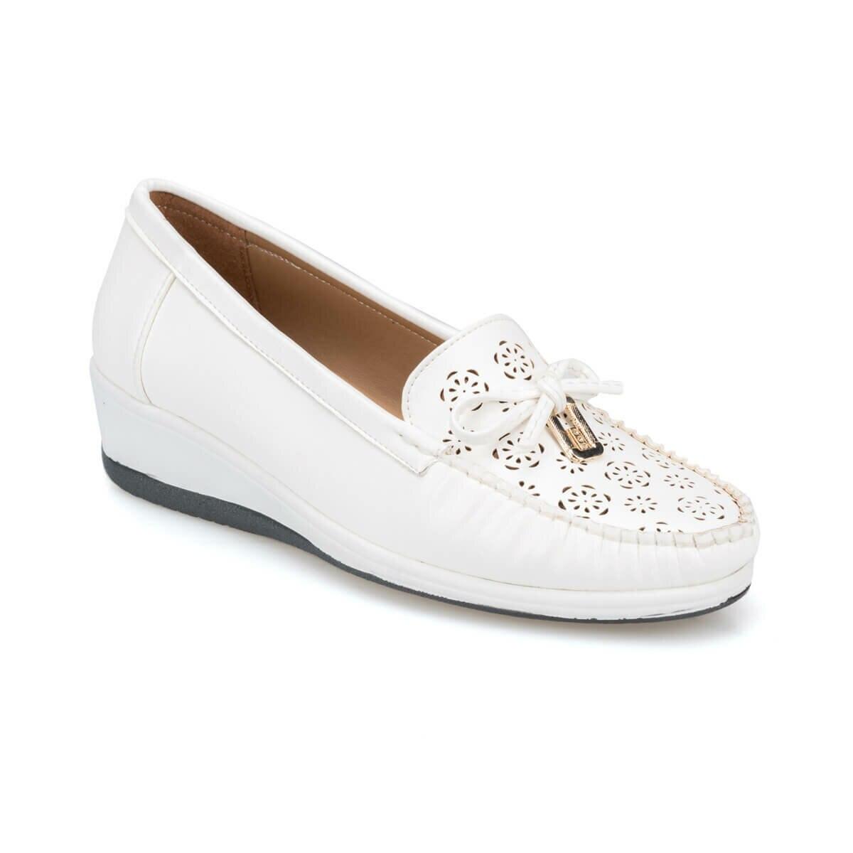 FLO Women's Sneakers Platform White Women's Summer Shoes Polaris 91. 150695.Z