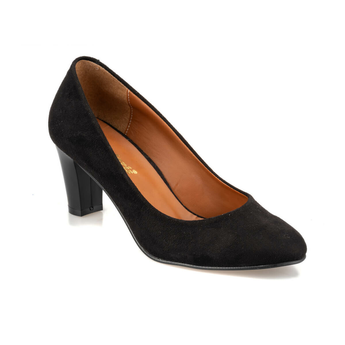 Flo 92.314113sz preto mulher gova sapatos polaris