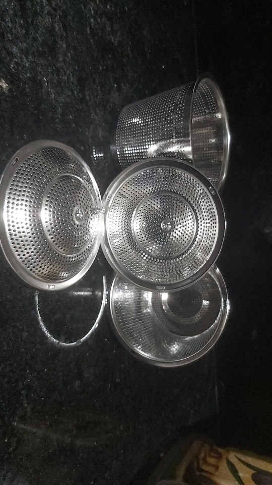 Stainless Steel Cookware and Bakeware Colander photo review