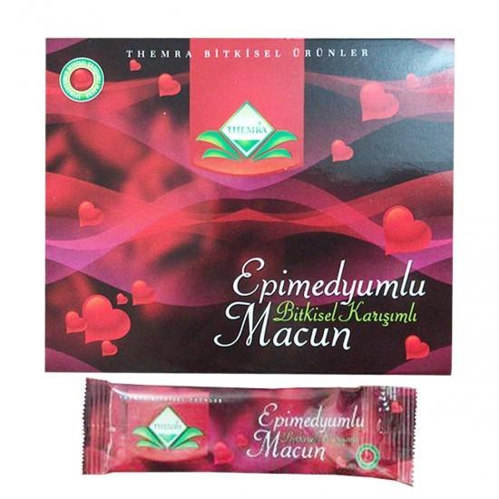 Themra Epimedium Turkish Honey Mix Macun Horny Goat Weed Ginseng Herbal Aphrodisiac– Turkish Paste, 12x12 gr., 144 gr. 2