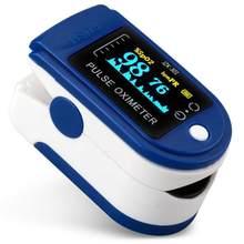 Oxímetro de pulso médico con cordón, pantalla Digital OLED, Monitor de saturación de oxígeno en sangre, Clip para dedo, pulsómetro, oximetría