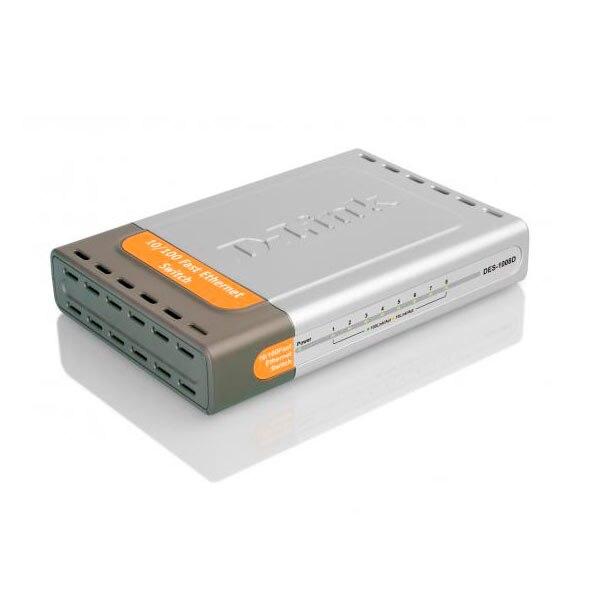 Switch No Gestionable D-LINK Des-1008d 8 P Ethernet Desktop No Rack
