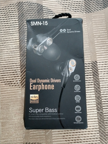 SMN15  Four Speakers 6D Surround Sound Bluetooth Earphones With TF Card Play Stereo Bass Sport Earphone Wireless Earphones-in Phone Earphones & Headphones from Consumer Electronics on AliExpress