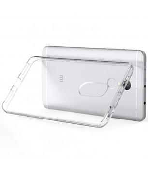 Funda de gel TPU carcasa silicona para movil Xiaomi NOTE 4X TRANSPARENTE