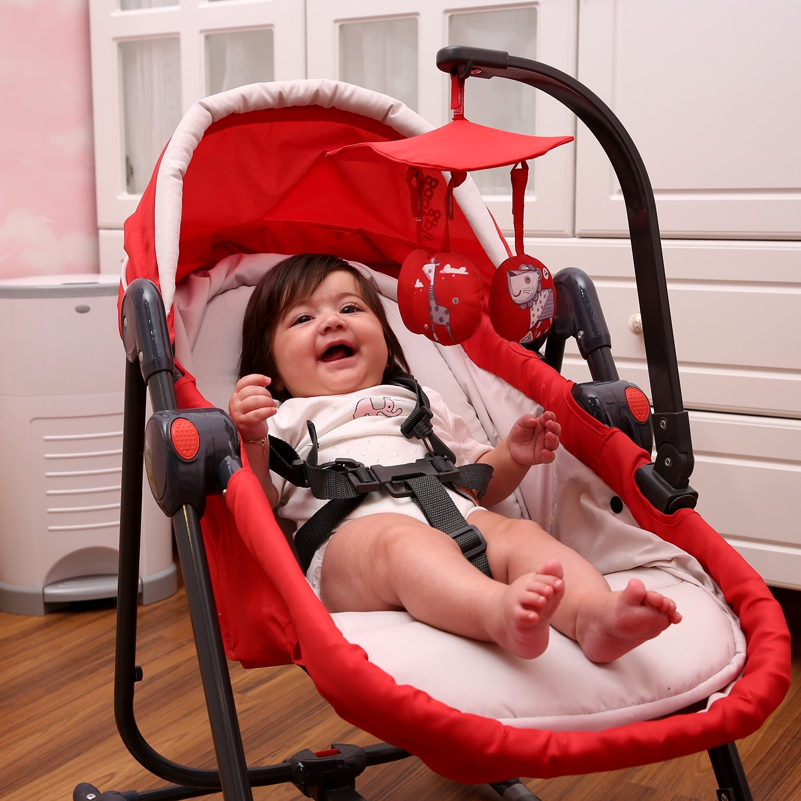 Ebebek Baby&plus 6 Functions Baby Bouncer Chair