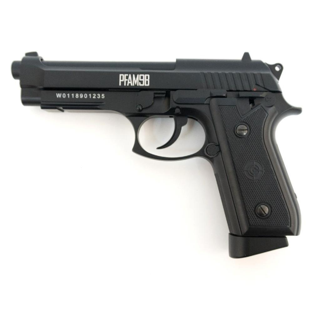 Пистолет Crosman PFAM9B (Копия Beretta 92 / корпус: металл)|Игрушечное оружие|   | АлиЭкспресс