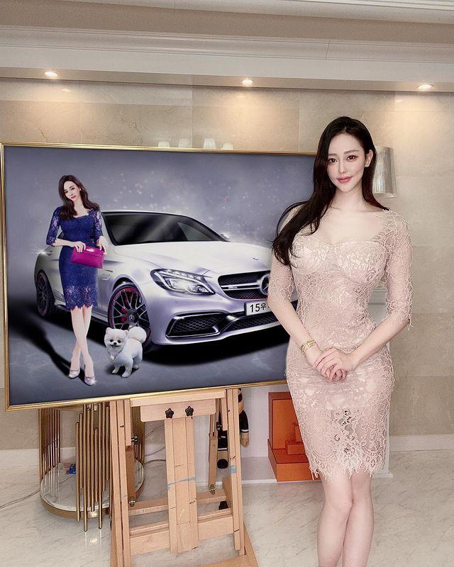 韩国美女画家 서 카 소(Seo caso) 不知道我是看画还是看你~插图3